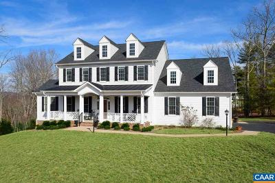 Glenmore (Albemarle), Keswick Farms, Keswick Estate, Keswick Royal Acres Single Family Home For Sale: 2131 Farringdon Rd