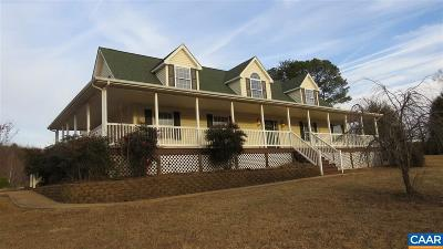 Scottsville VA Single Family Home For Sale: $245,900