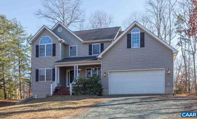 Fluvanna County Single Family Home For Sale: 23 Cliftwood Rd