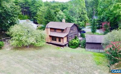 Fluvanna County Single Family Home For Sale: 13 Bunker Blvd