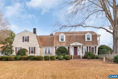 Albemarle County Single Family Home For Sale: 3115 Dundee Rd