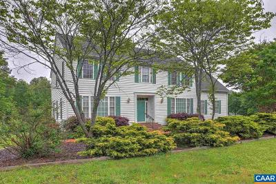 Louisa County Single Family Home For Sale: 25 Clairborne Cir
