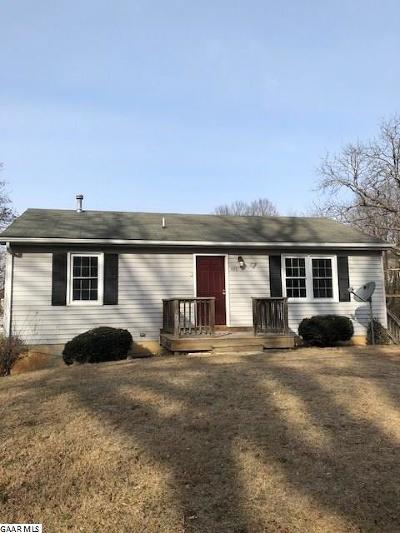 Staunton Single Family Home For Sale: 428 Montgomery Ave