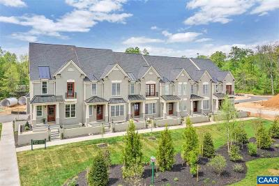 Charlottesville Townhome For Sale: 2759 Town Mews Ln
