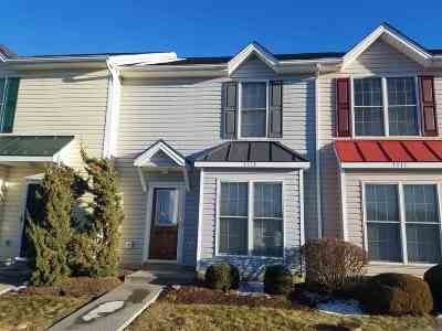 Harrisonburg County Townhome For Sale: 1113 Paul Revere Ct
