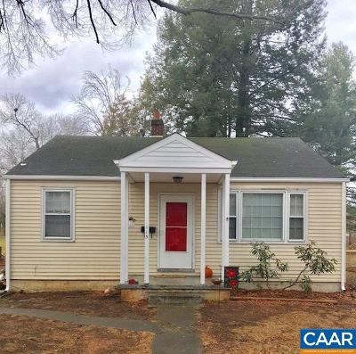 Charlottesville Single Family Home For Sale: 115 Stribling Ave