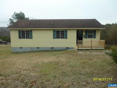Nelson County Single Family Home For Sale: 74 Turner Ln