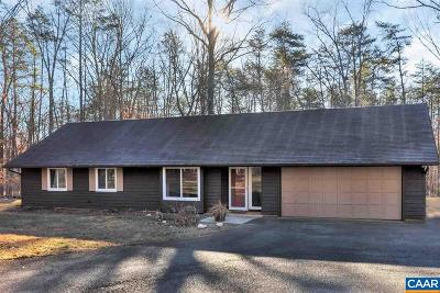 Albemarle County Single Family Home For Sale: 1065 Hunters Ridge Rd
