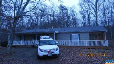 Louisa County Single Family Home For Sale: 4709 Campbell Rd