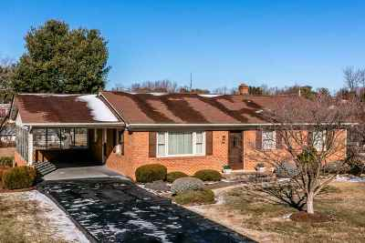 Harrisonburg Single Family Home For Sale: 740 Broadview Dr