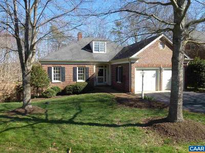 Albemarle County Single Family Home For Sale: 3511 Wedgewood Ct