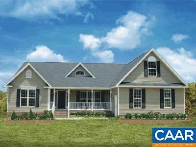 Fluvanna County Single Family Home For Sale: Lot 15 Pine Shadow Ct #15