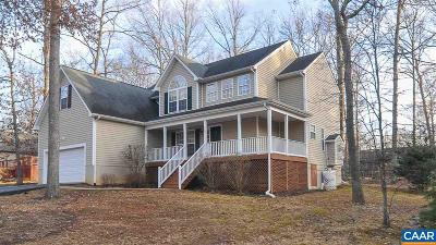 Fluvanna County Single Family Home For Sale: 32 Colonial Rd