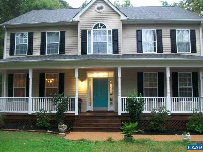 Fluvanna County Single Family Home For Sale: 739 Jefferson Dr