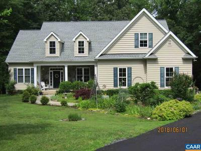 Fluvanna County Single Family Home For Sale: 119 Wright Ct