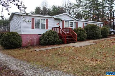 Buckingham County Single Family Home For Sale: 20564 N James Madison Hwy