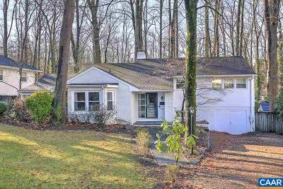 Charlottesville Single Family Home For Sale: 1856 Field Rd