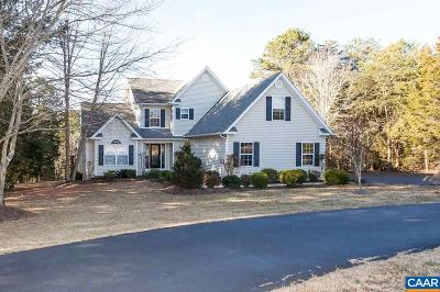 Fluvanna County Single Family Home For Sale: 13 Acre Ln