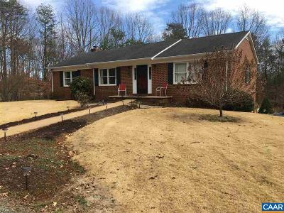 Single Family Home For Sale: 1202 Watson Rd