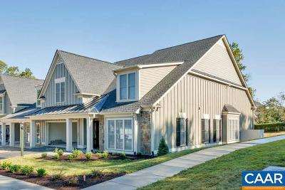 Charlottesville Townhome For Sale: 43 Out Of Bounds Ct