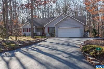 Fluvanna County Single Family Home For Sale: 4 Tobacco Ter