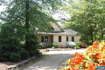 Nelson County Single Family Home For Sale: 887 Cedar Meadow Dr