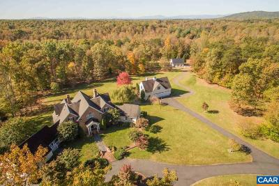 Albemarle County Single Family Home For Sale: 4865 Gilbert Station Rd