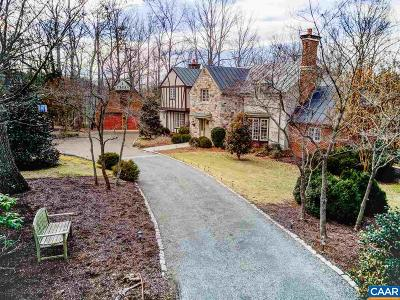 Charlottesville Single Family Home For Sale: 1260 Inglecress Dr