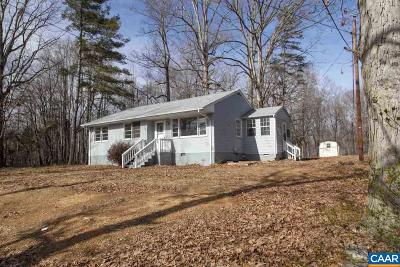 Crozet Single Family Home For Sale: 5174 Three Notch'd Rd