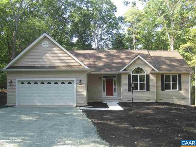 Fluvanna County Single Family Home For Sale: 4 Briarwood Rd