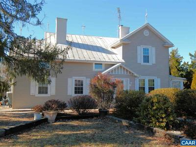Gordonsville Single Family Home For Sale: 2885 Columbia Rd