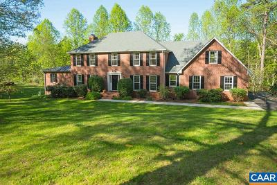 Charlottesville Single Family Home For Sale: 720 Garthfield Ln