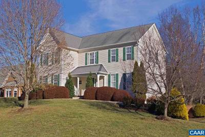 Albemarle County Single Family Home For Sale: 1726 Doringh Pl