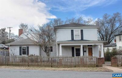 Charlottesville Single Family Home For Sale: 624 Bolling Ave