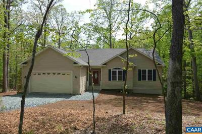 Fluvanna County Single Family Home For Sale: 2 Deerwood Ln