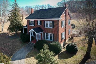 Single Family Home For Sale: 3436 N Lee Highway