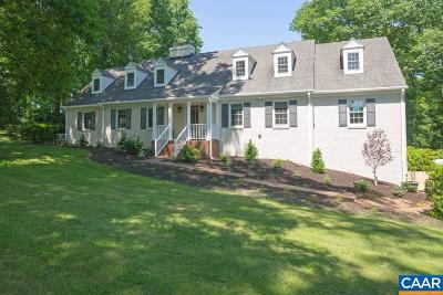 Albemarle County Single Family Home For Sale: 777 Club Dr