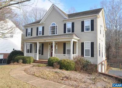 Albemarle County Single Family Home For Sale: 356 Pleasant Pl