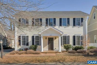 Albemarle County Single Family Home For Sale: 1439 Wickham Pond Dr