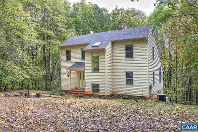 Charlottesville Single Family Home For Sale: 2413 Old Lynchburg Rd
