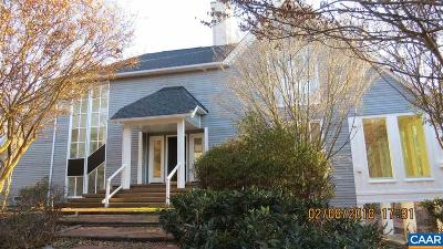 Charlottesville Single Family Home For Sale: 115 Apple Ln