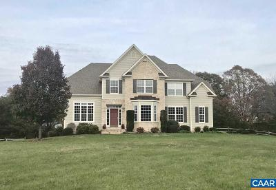 Fluvanna County Single Family Home For Sale: 72 Red Maple Ln