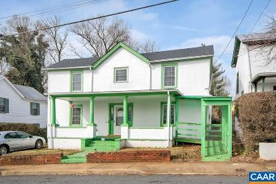 Charlottesville Single Family Home For Sale: 509 NW 12th St