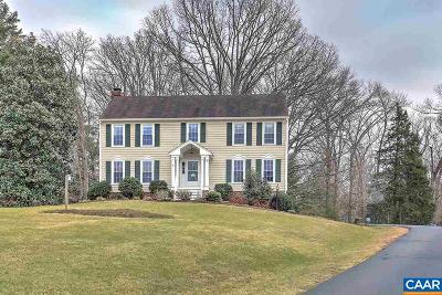Charlottesville Single Family Home For Sale: 3303 Meadowfield Ln