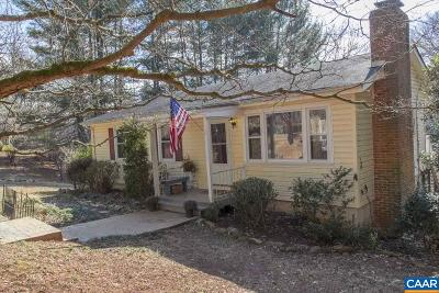 Charlottesville Single Family Home For Sale: 3081 Watts Farm Rd