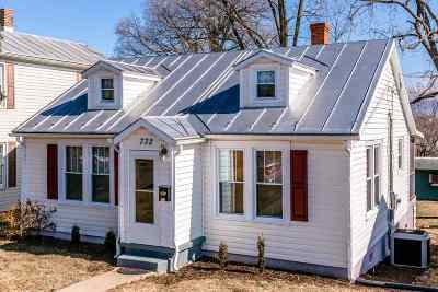 Harrisonburg VA Single Family Home Sold: $164,900