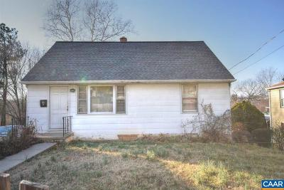 Charlottesville Single Family Home For Sale: 1107 SE 6th St