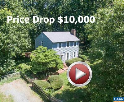 Albemarle County Single Family Home For Sale: 3500 Glenaire Dr