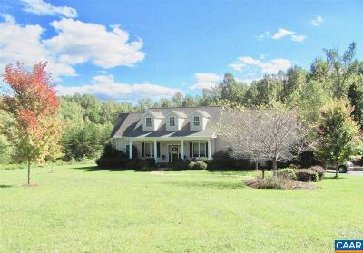 Louisa, Louisa County Single Family Home For Sale: 2715 E Jack Jouett Rd