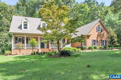 Charlottesville Single Family Home For Sale: 3125 Beau Mont Farm Rd